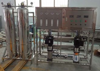 SS 304 Small RO Water Treatment Plant , 500LPH 3000 GPD RO Water Purifier Machine