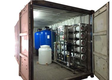 Reverse Osmosis RO Water Treatment System With Blue FRP Tank Sand Filter / Carbon Filter